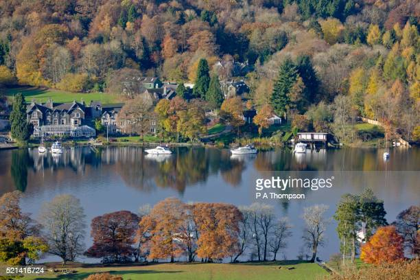 Lake Windermere in Fall, The English Lake District