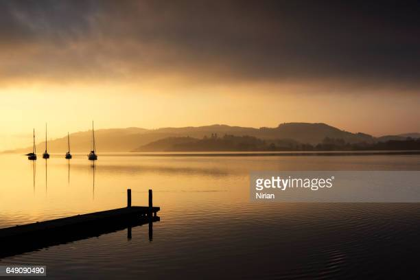 lake windermere - ambleside stock photos and pictures