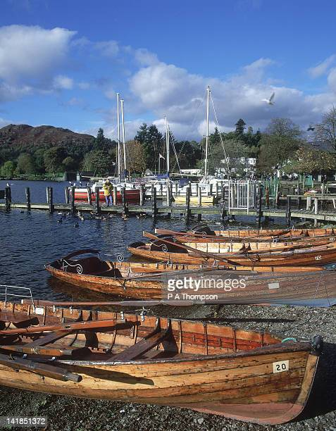 lake windermere, the lake district, cumbria, england - lake windermere stock pictures, royalty-free photos & images