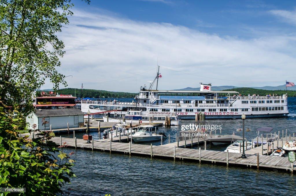 Lake Winnipesaukee : Stock Photo