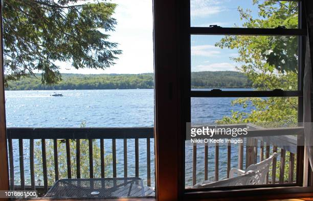 Lake Winnipesaukee Through the Window