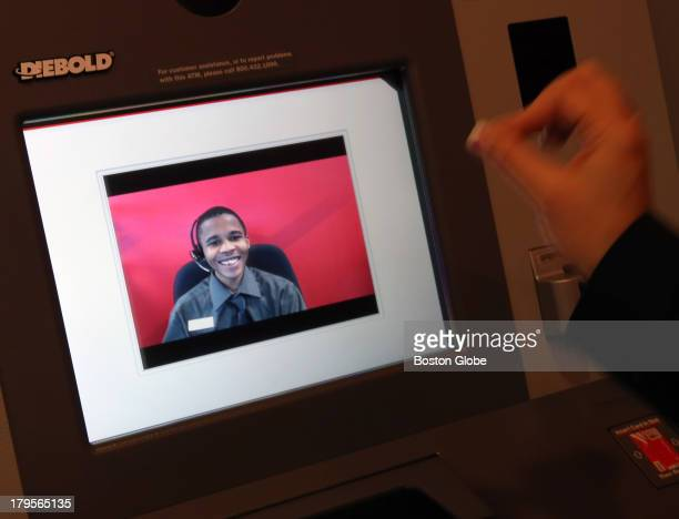 Lakeem an ATM with teller assist at the Bank of America new generation of ATM machines are here They allow customers to do videochats cash checks and...
