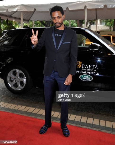 Lakeith Stanfield arrives at the BAFTA LA Tea Party with Jaguar Land Rover at The Four Seasons Hotel Los Angeles at Beverly Hills on January 05 2019...