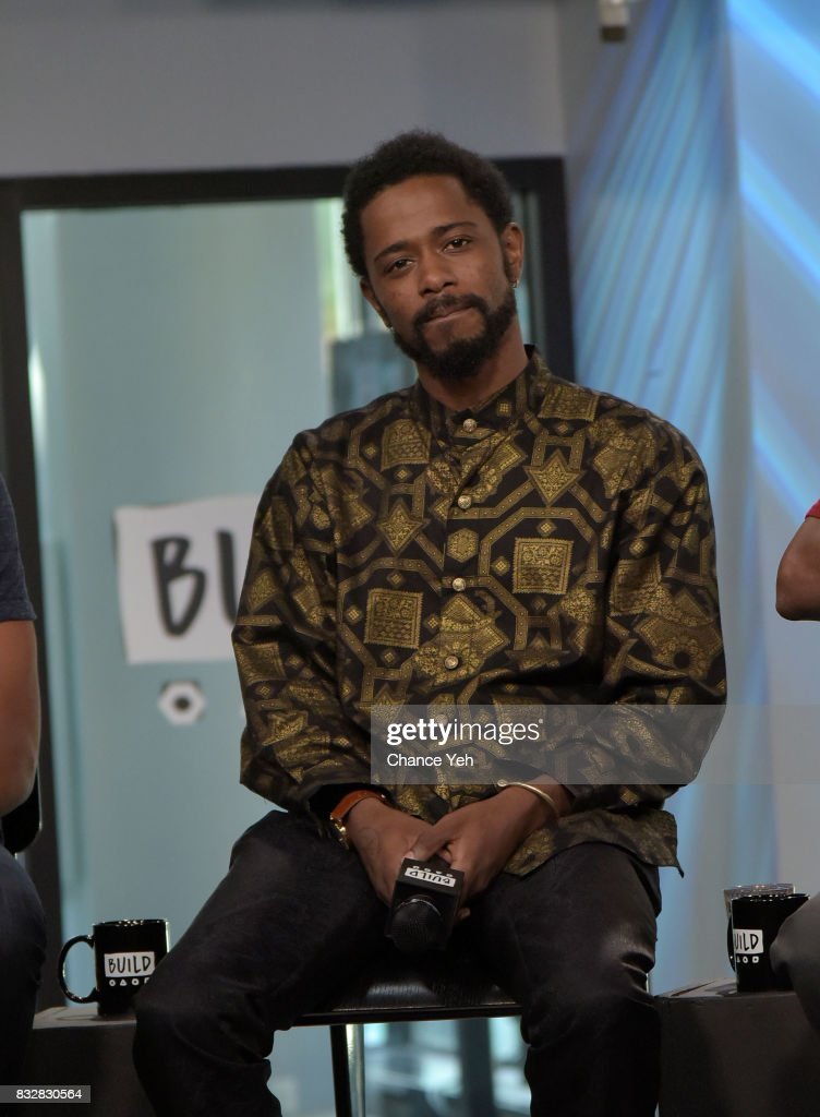 Lakeith Stanfield attends Build series to discuss 'Crown Heights' at Build Studio on August 16, 2017 in New York City.