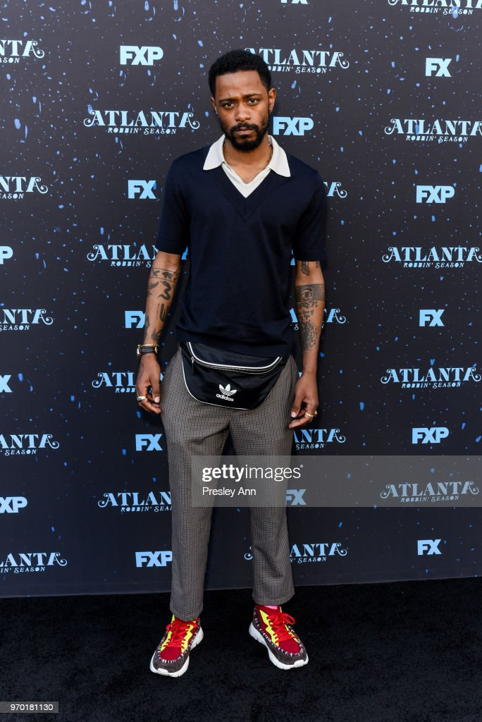 Lakeith Stanfield attends FX's 'Atlanta Robbin' Season' FYC Event at Saban Media Center on June 8, 2018 in North Hollywood, California.
