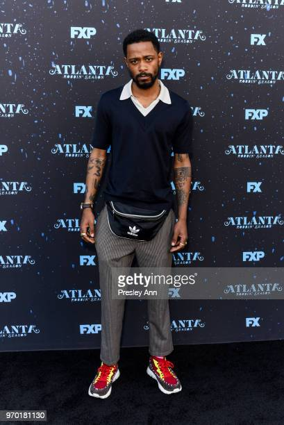 Lakeith Stanfield attends FX's Atlanta Robbin' Season FYC Event at Saban Media Center on June 8 2018 in North Hollywood California