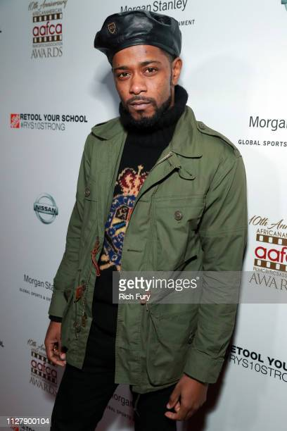 Lakeith Stanfield attends the 10th annual AAFCA Awards at Taglyan Complex on February 06 2019 in Los Angeles California