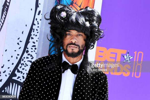 Lakeith Stanfield attends the 2018 BET Awards at Microsoft Theater on June 24 2018 in Los Angeles California