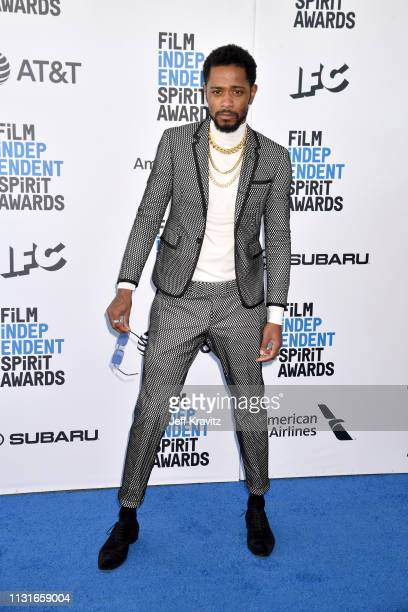 Lakeith Stanfield attends the 2019 Film Independent Spirit Awards on February 23 2019 in Santa Monica California