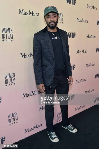 Lakeith Stanfield attends the 2019 Women In Film Annual Gala Presented by Max Mara with additional support from partners Delta Air Lines and Lexus at...