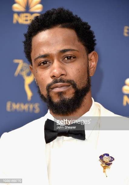 Lakeith Stanfield attends the 70th Emmy Awards at Microsoft Theater on September 17 2018 in Los Angeles California