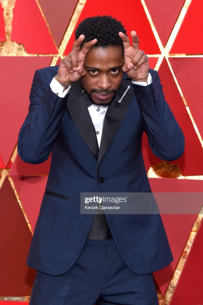 Lakeith Stanfield attends the 90th Annual Academy Awards at Hollywood & Highland Center on March 4, 2018 in Hollywood, California.