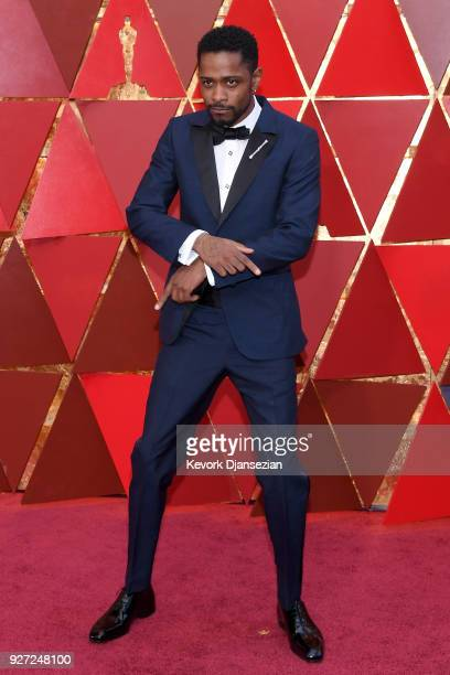 Lakeith Stanfield attends the 90th Annual Academy Awards at Hollywood Highland Center on March 4 2018 in Hollywood California