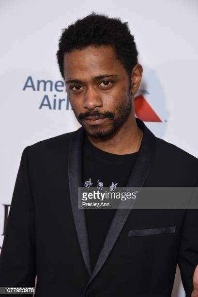 Lakeith Stanfield attends the BBCA BAFTA Tea Party at Four Seasons Hotel Los Angeles at Beverly Hills on January 5 2019 in Los Angeles California
