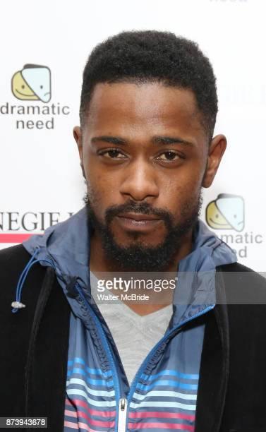 Lakeith Stanfield attends The Children's Monologues at Carnegie Hall on November 13 2017 in New York City
