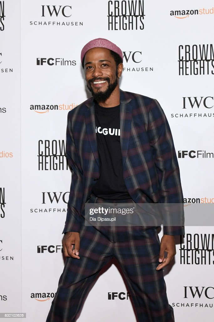 Lakeith Stanfield attends the 'Crown Heights' New York premiere at Metrograph on August 15, 2017 in New York City.