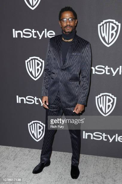 Lakeith Stanfield attends the InStyle And Warner Bros Golden Globes After Party 2019 at The Beverly Hilton Hotel on January 6 2019 in Beverly Hills...