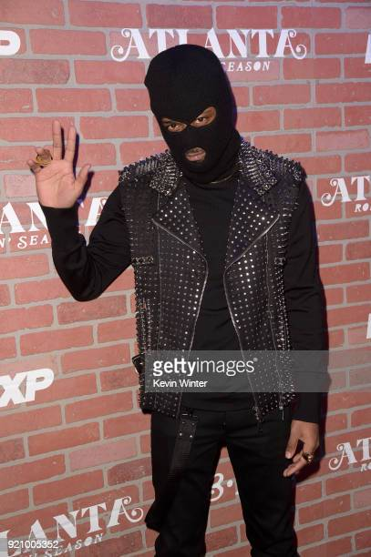 Lakeith Stanfield attends the premiere for FX's Atlanta Robbin' Season at The Theatre at Ace Hotel on February 19 2018 in Los Angeles California