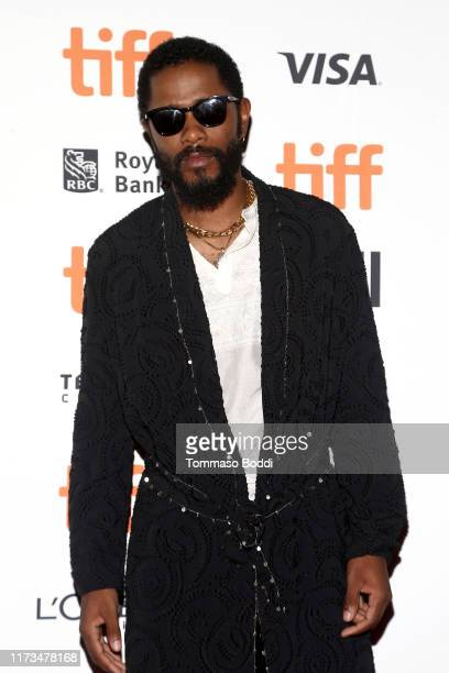 LaKeith Stanfield attends the Uncut Gemspremiere during the 2019 Toronto International Film Festival at Princess of Wales Theatre on September 09...