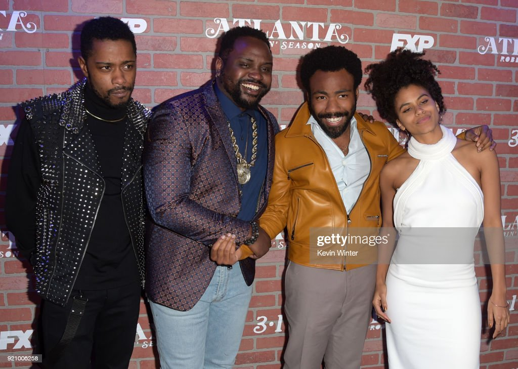 "Premiere For FX's ""Atlanta Robbin' Season"" - Red Carpet"