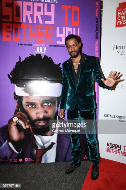 Khary Durgans during the 10th Annual BAMcinemaFest Opening Night Premiere Of 'Sorry To Bother You' at BAM Harvey Theater on June 20 2018 in New York...
