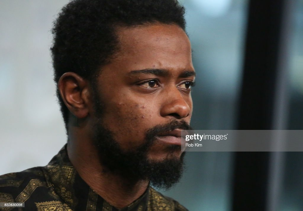 Lakeith Stanfield of 'Crown Heights' visits at Build Studio on August 16, 2017 in New York City.