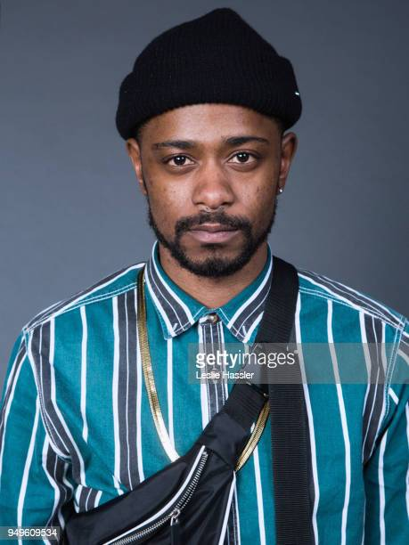 Lakeith Stanfield poses for a portrait during the Jury Welcome Lunch 2018 Tribeca Film Festival at Tribeca Film Center on April 19 2018 in New York...