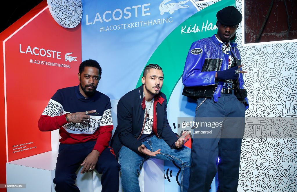 Lacoste x Keith Haring Collaboration Launch : News Photo