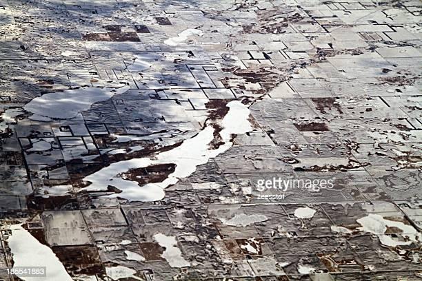 lakes around lidgerwood, north dakota - zeesstof stock pictures, royalty-free photos & images