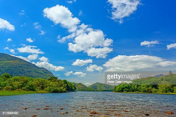 Lakes of Killarney along the Ring of Kerry, County Kerry, Ireland