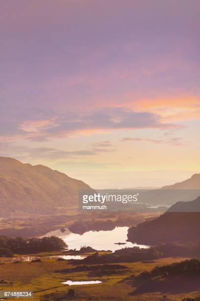 Lakes of Killarney at sunrise - Ring of Kerry, County Kerry, Ireland