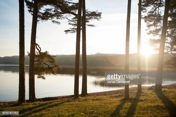 Lakeshore, Fristad, Vastergotland, Sweden