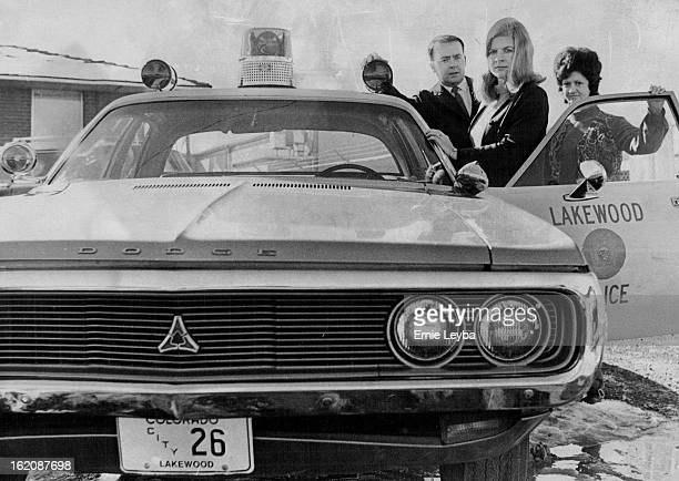 JAN 20 1972 JAN 21 1972 JAN 26 1972 Lakewood Colorado Police Department Lakewood's First Woman Public Safety Agents Become Familiar With Patrol Car...