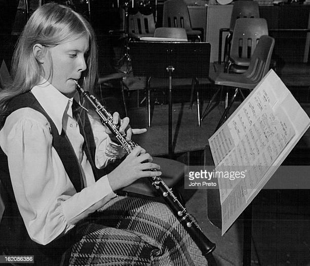 NOV 20 1970 NOV 23 1970 NOV 26 1970 Lakewood High School 5# Barbara Barnett plays second oboe in Lakewood HS Band