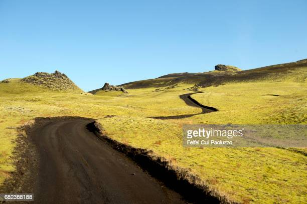 Laki Road of South central Iceland