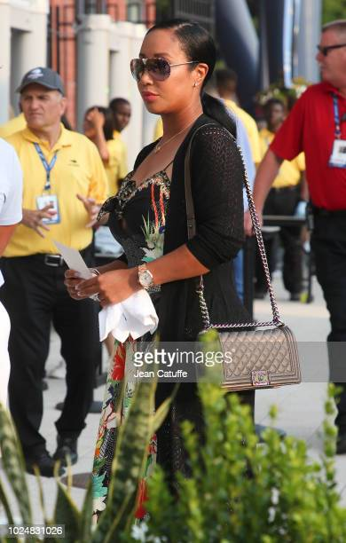 Lakiha Spicer, wife of Mike Tyson attends the opening night gala of the 2018 tennis US Open held at Arthur Ashe stadium of the USTA Billie Jean King...