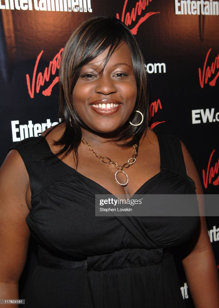 Lakisha Jones during Entertainment Weekly/Vavoom 2007 Upfront Party - Red Carpet at The Box in New York City, New York, United States.