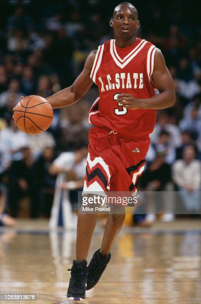 Lakista McCuller Guard for the North Carolina State University Wolf pack during the NCAA Pac10 Conference college basketball game against the...