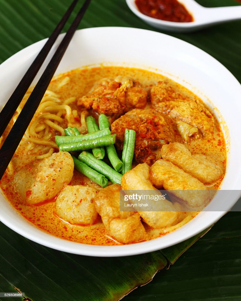 Laksa soup : Stock Photo