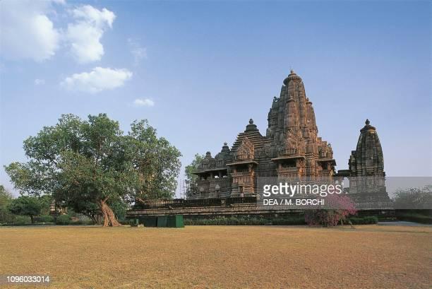 Lakshmana temple, Khajuraho group of Monuments , Madhya Pradesh, India, 10th century.