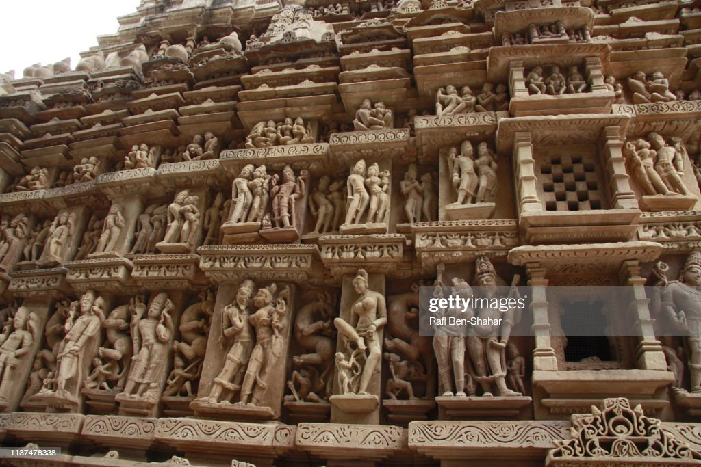 Lakshmana Temple Khajuraho Stock Photo - Getty Images