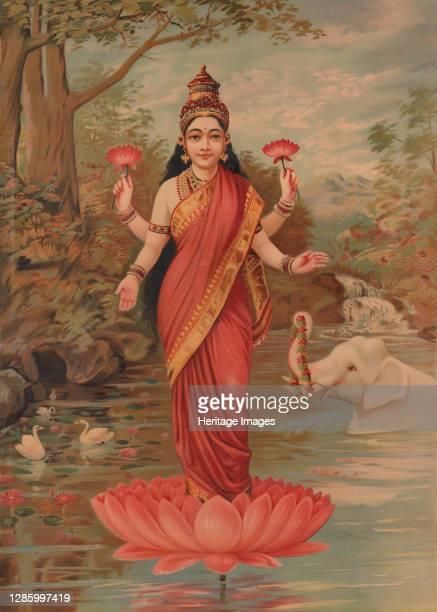 Lakshmi, 1894. Artist Unknown.