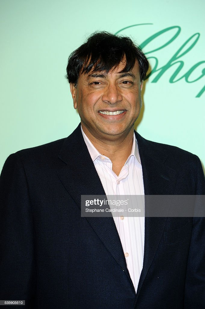 Lakshmi Mittal at the 'Chopard 150th Anniversary Party' during the 63rd Cannes International Film Festival.