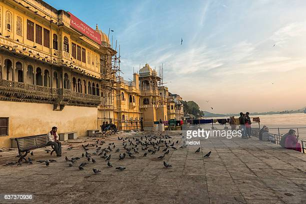 lal ghat, udaipur india - ghat stock pictures, royalty-free photos & images