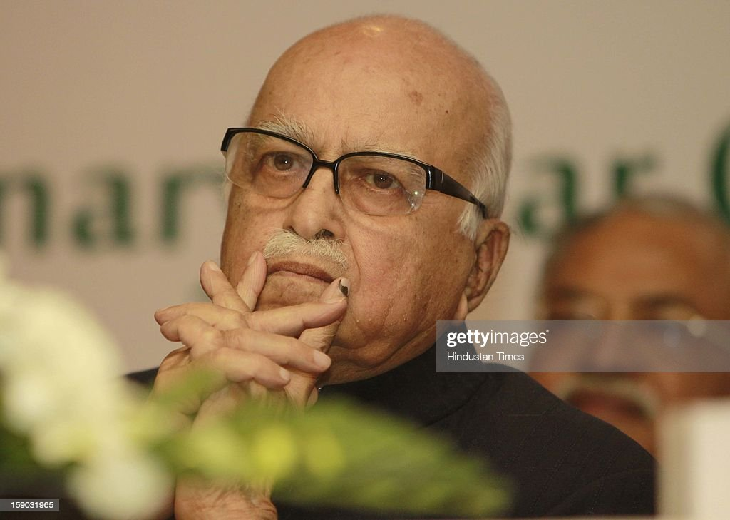 Lal Krishna Advani senior leader of the Bharatiya Janata Party during the 55th annual Delhi State Medical conference organized by Delhi Medical Association 'Centenary Year Celebrations 2013, 14' at hotel Le-Meridien on January 6, 2013 in New Delhi, India.