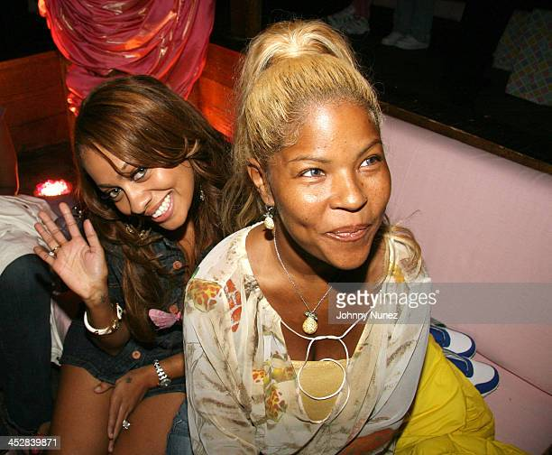 LaLa and Lisa Hill during Baby Shower for Lorena Rios Fat Joe's Wife at Cain in New York New York United States