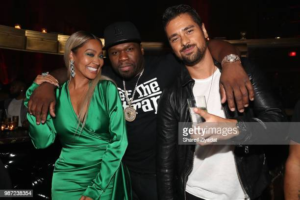 Lala Anthony and 50 Cent attend 'Power' Season 5 Premiere After Party at Cipriani 42nd Street on June 28 2018 in New York City