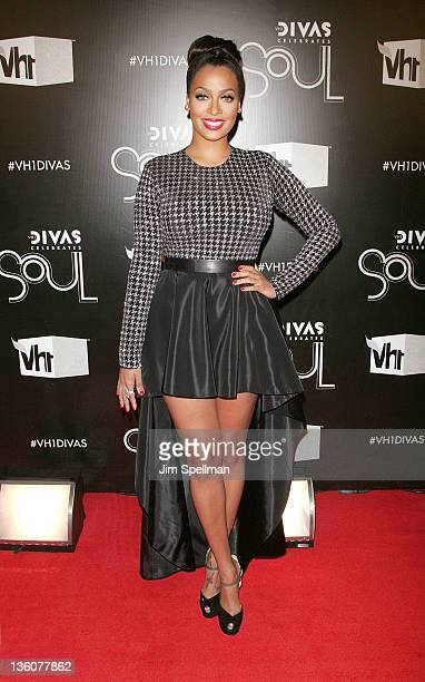 LaLa Anthony attends 2011 VH1 Divas Celebrates Soul at the Hammerstein Ballroom on December 18 2011 in New York City