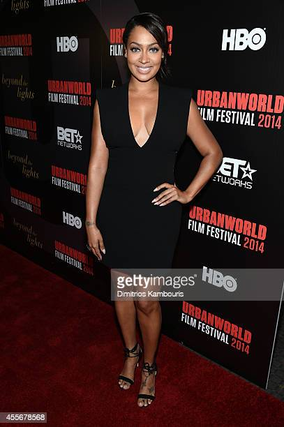 LaLa Anthony attends BEYOND THE LIGHTS opening The Urbanworld Film Festival at SVA Theater on September 18 2014 in New York City