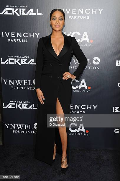 Lala Anthony attends Keep A Child Alive's 11th annual Black Ball at Hammerstein Ballroom on October 30 2014 in New York City